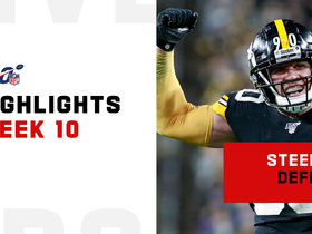 Best defensive plays from the Steel Curtain's win | Week 10