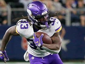 Dalvin Cook navigates sideline for 29-yard catch and run