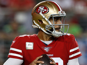 'Hawks force turnover on downs after Jimmy G's fourth-down incompletion