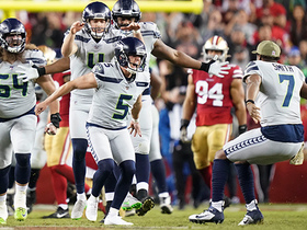 Seahawks swarm Jason Myers after CLUTCH 42-yard game-winning FG