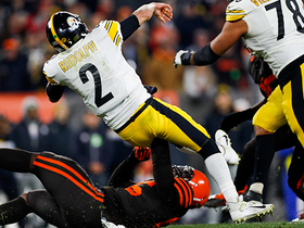 Browns force turnover on downs on fourth-down incompletion