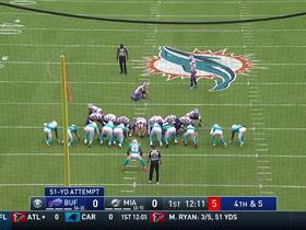 Stephen Hauschka boots a 51-yard FG after missing last five from 50+