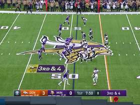 Miller halts Vikings drive with third-down stop at the line of scrimmage