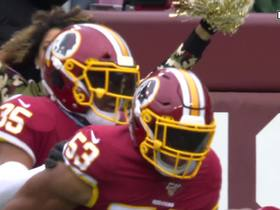 Jon Bostic's perfectly read INT sets up Redskins in red-zone