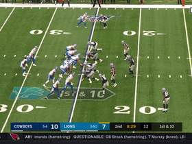 Bo Scarbrough bursts through Cowboys' D for 23 yards
