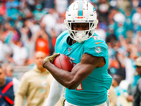DeVante Parker's 50-YARD catch and run puts Fins in red zone