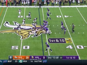 Stefon Diggs burns Broncos for 44-yard catch