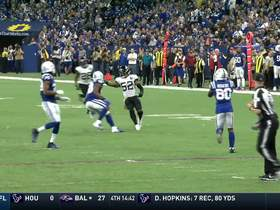 Jaguars scoop up loose ball on Colts punt return