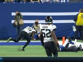 Jarrod Wilson catches tip, toe-taps for Jags INT