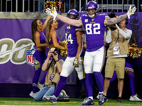 Rudolph gives Vikings their first lead on 32-yard catch-and-run TD