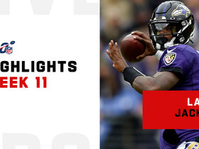 Lamar Jackson's most impressive plays vs. Texans | Week 11
