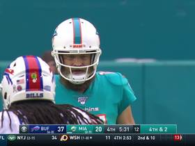 DeVante Parker creates separation on fourth down for 45-yard catch