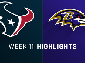 Texans vs. Ravens highlights | Week 11