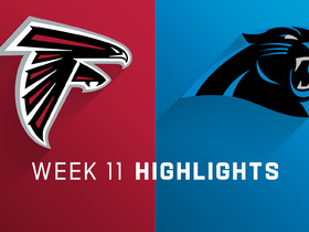 Falcons vs. Panthers highlights | Week 11