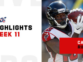 Every catch by Calvin Ridley and Julio Jones | Week 11