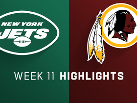 Jets vs. Redskins highlights | Week 11