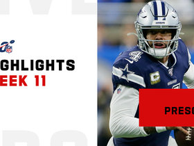 Best throws from Dak Prescott's 444-yard game | Week 11