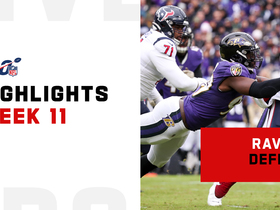 Best plays by the Ravens' defense vs. Texans | Week 11