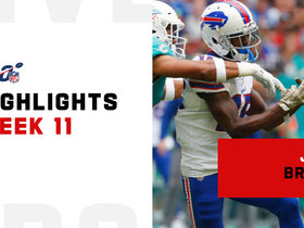 Every catch from John Brown's 137-yard day | Week 11
