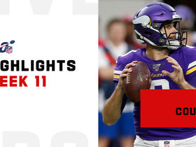 Kirk Cousins' best passes from 3-TD game | Week 11