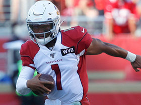 Kyler Murray shows blazing speed on 21-yard rush to edge