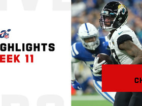 Every D.J. Chark catch from 104-yard day   Week 11