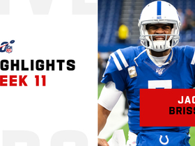 Jacoby Brissett's difference-making plays in return | Week 11