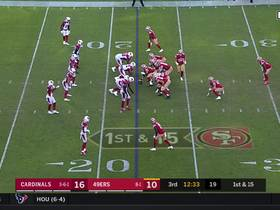 Kyle Shanahan cooks up FB screen to Kyle Juszczyk for 19-yard pickup