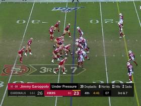 Tip drill! Jalen Thompson corrals Cards' second INT on deflected pass