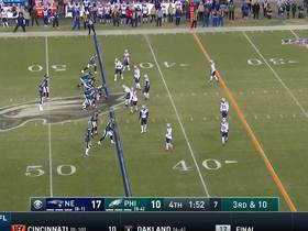 Nelson Agholor elevates for airborne snag on clutch third-down pickup
