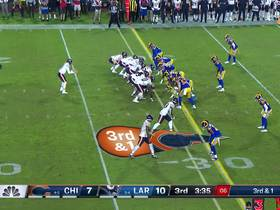 Ebukam plays option perfectly forcing big loss on third-and-1