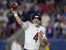 Chase Daniel completes first pass after replacing Trubisky vs. Rams