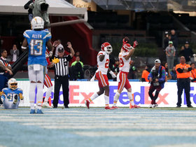 Daniel Sorensen ICES Chiefs' win with stellar end-zone INT