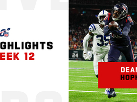 Top catches from DeAndre Hopkins on 'TNF' | Week 12
