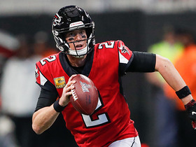Matt Ryan finds TE wide open over the middle for 53 yards