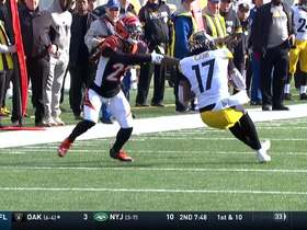 Deon Cain dazzles with stellar 35-yard snag on first catch with Steelers