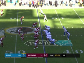 Redskins' D create another turnover on Bo Scarbrough's fumble