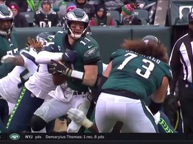 Seahawks swarm Carson Wentz for huge third-down sack