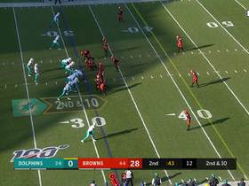 Fitzpatrick threads a back-shoulder seam to Albert Wilson for 16 yards