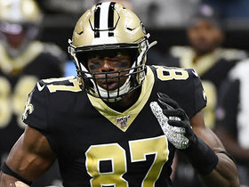 Drew Brees throws perfect ball to Jared Cook for 20-yard TD
