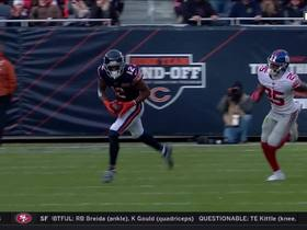 Allen Robinson hauls in pass for 49-yard pickup