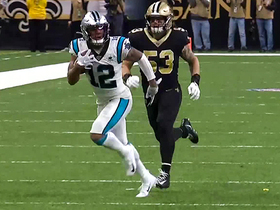 D.J. Moore looks like Steve Smith Sr. on 52-YARD catch and run