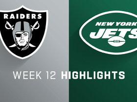 Raiders vs. Jets highlights | Week 12