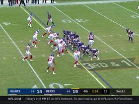 Giants deny Bears on third-and-one