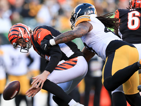 Bud Dupree takes down Finley for key strip-sack