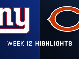 Giants vs. Bears highlights | Week 12