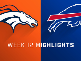 Broncos vs. Bills highlights | Week 12