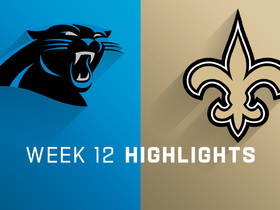 Panthers vs. Saints highlights | Week 12