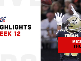 Every Michael Thomas catch from 101-yard game | Week 12