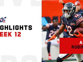 Every catch from Allen Robinson's 131-yard game | Week 12